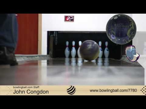 Brunswick C(System)3.5 bowling ball reaction video
