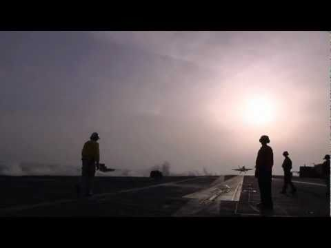 Onboard the Ike: Aircraft carrier operations in 60 seconds
