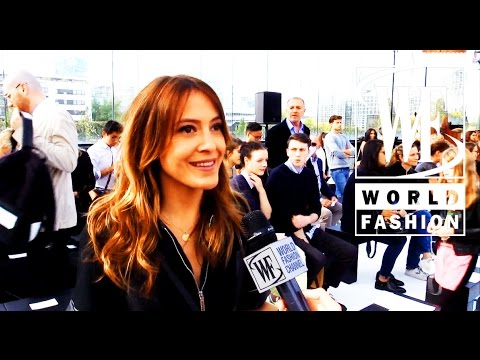 Front Row Maxime Simoens Spring-Summer 2015 Paris Fashion Week