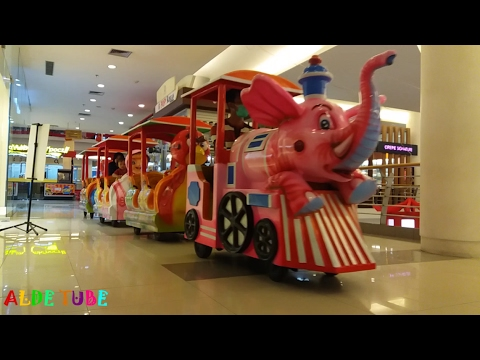 Naik Kereta Api Tut Tut Tut - Indoor Playground Fun for Kids