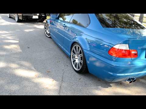 Laguna Seca Blue M3 E46