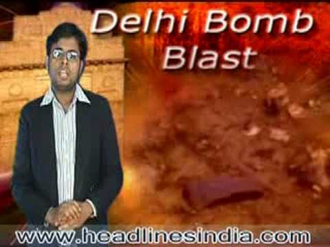 Bomb Blasts in Delhi, hindi news video