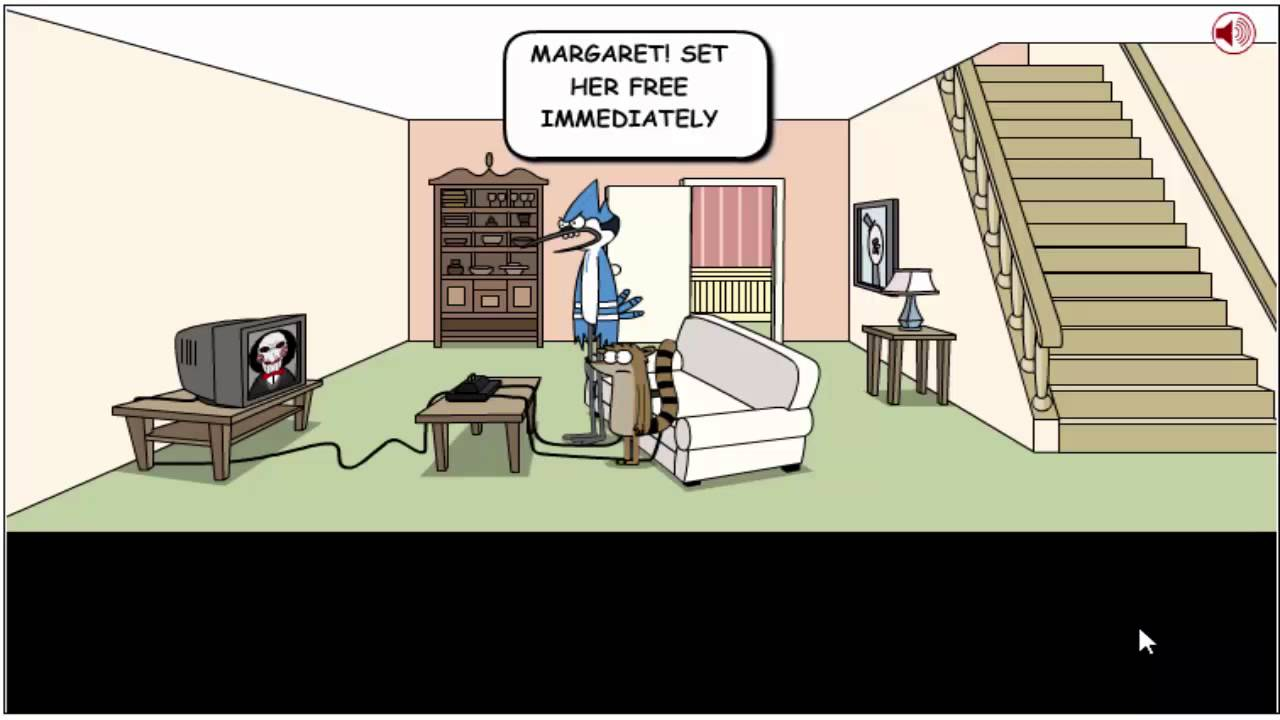 Mordecai Rigby Games Mordecai And Rigby Saw Game