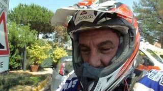 Sardegna Rally Race 2015: Mauro Uslenghi al termine della prima tappa