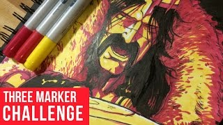 THE 3 MARKER CHALLENGE
