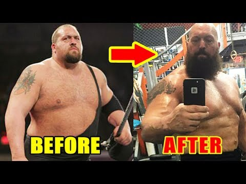 10 Most Shocking WWE Body Transformations (2017)
