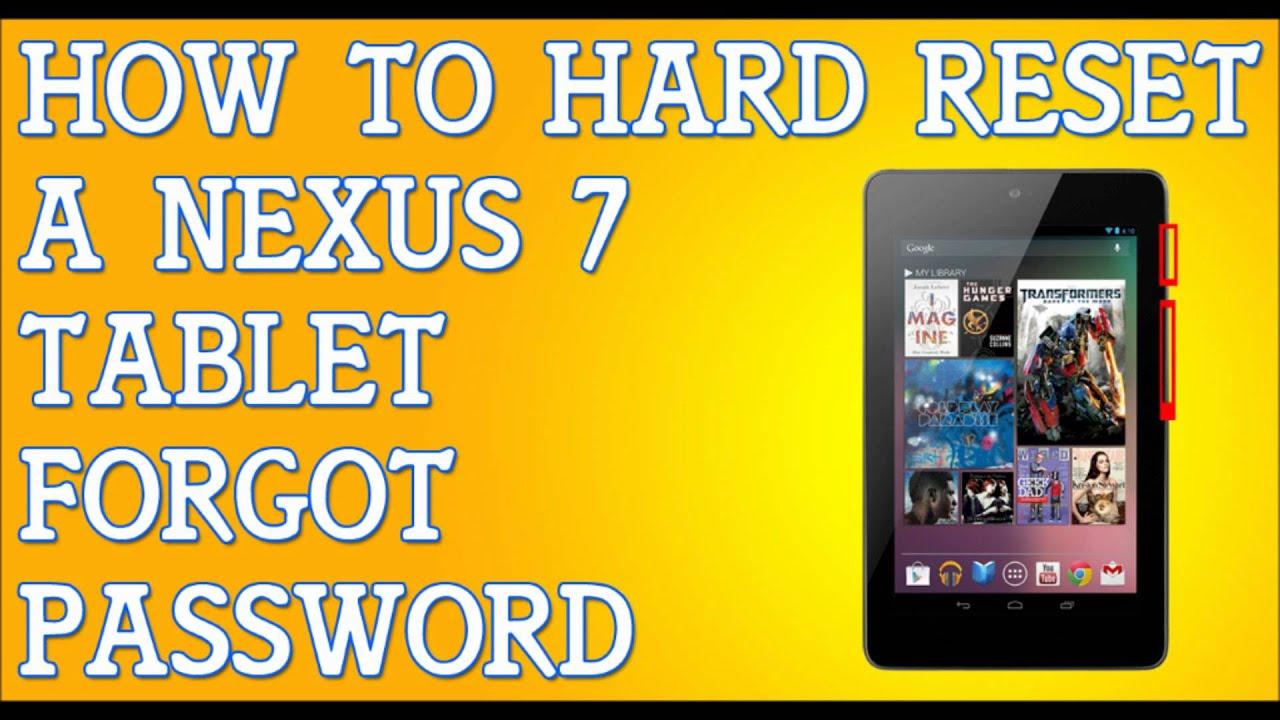 Как сделать hard reset на nexus 5