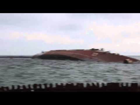 Navy base in Ukraine locked specifically sunken ship
