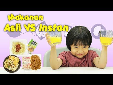 KATA BOCAH tentang Makanan Asli vs Makanan Instan | #46