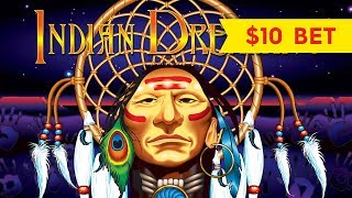 Wonder 4 Tall Fortunes Indian Dreaming Slot - $5 | $10 Bets - EPIC LONGPLAY BATTLE!