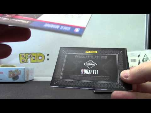 Brian's 2011/12 Limited Basketball Box Break