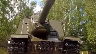 Т-34, ису-152 - техника Великой Победы, Новосибирск, Монумент Славы