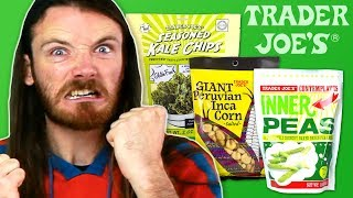 Irish People Try American Vegetable Snacks