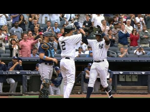 Home run history repeated for Jeter, Soriano