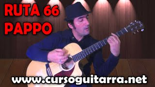 Tocar rock and roll - PAPPO - RUTA 66 - en Guitarra