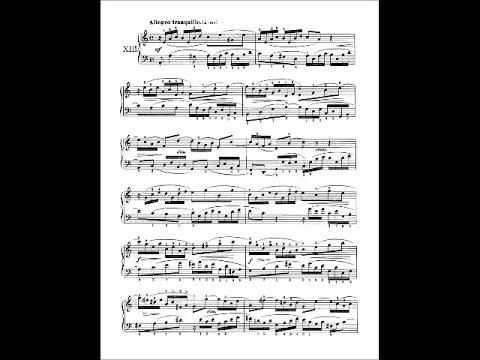 Бах Иоганн Себастьян - Bwv 784 - Invention No 13