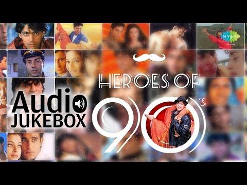 Hero's Of 90's | Bollywood Movie Songs | Audio Jukebox video