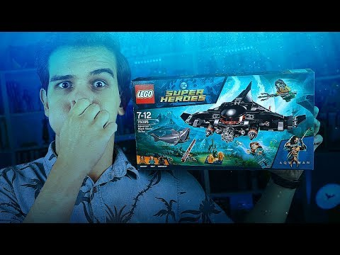 LEGO Аквамен - АТАКА ЧЁРНОЙ МАНТЫ (76095)