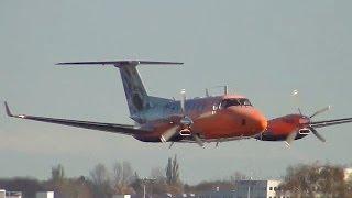 Flight Calibration Services Beech B300 Super King Air 350 [D-CFMD] @ Hamburg Airport