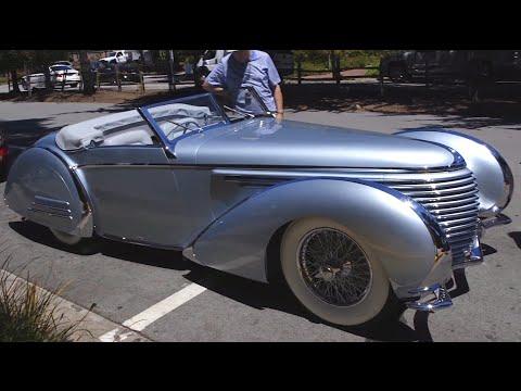 1937 Delahaye 145 Franay Cabriolet: Grand Prix Racer Turned Roadster - Pebble Beach Week
