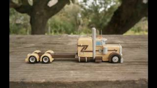 Peterbilt 389 Awesome Show truckscale model