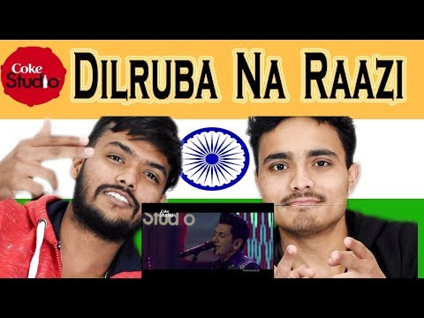 Indian React on Dilruba Na Raazi| Zeb Bangash & Faakhir Mehmood | Coke Studio | Swaggy D thumbnail