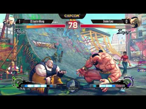 USFIV: Justin Wong vs Snake Eyez - SDCC2014 - Capcom Pro Tour Top 16