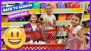 HUGE BACK TO SCHOOL SHOPPING TRIP | SCHOOL SUPPLIES HAUL 2017!