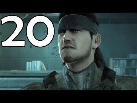 Metal Gear Solid 4 Walkthrough (Commentary) - Part 20 - Shadow Moses (HD)