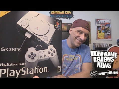 New Playstation Classic System Review - Gamester81