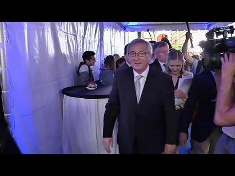 Merkel supports Juncker for president of European Commission