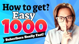 1000 Subscribers in just 2 weeks? | The Secret technique to get 1000 Subscribers Fast!