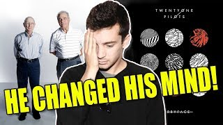 Download Lagu Tyler Joseph CHANGED HIS MIND on Car Radio! Gratis STAFABAND