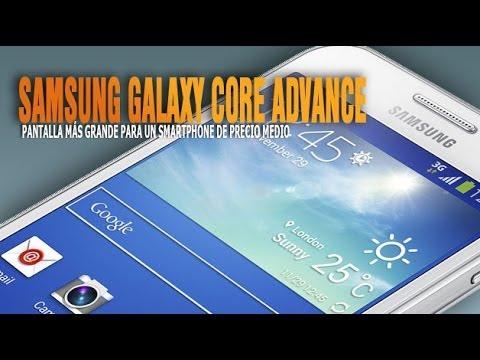 Samsung Galaxy Core Advance. características y especificaciones