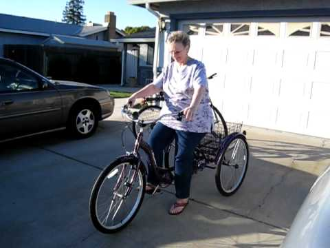 Mom's New Schwinn Meridian Trike