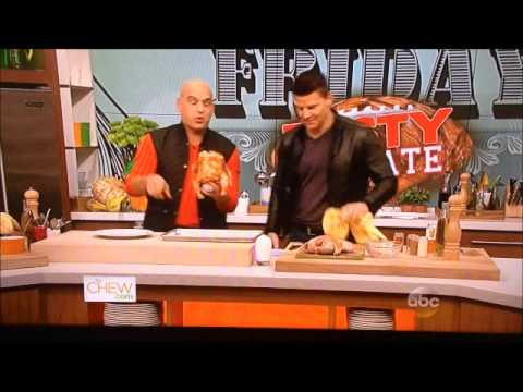 David Boreanaz on ABC's 'The Chew'