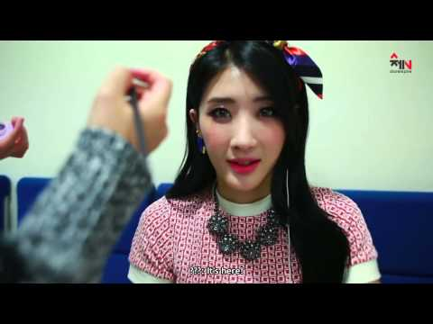 [eng Sub][131011] Nine Muses - Behind The Scenes On First Broadcasts (part1) video