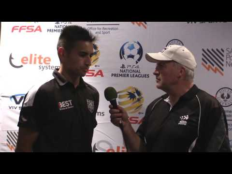 NPL SA Round 2 Post Game interview Adelaide City v West Adelaide