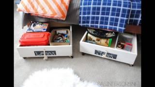 17 Most Creative Ideas To Make Stylish DIY Underbed Storage Drawers