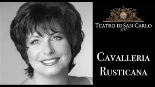 Brindisi Cavalleria Rusticana Teatro Di San Carlo