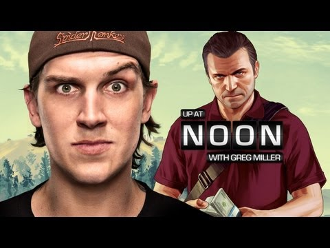 Up At Noon - Clerks' Jason Mewes Helps Explain GTA V