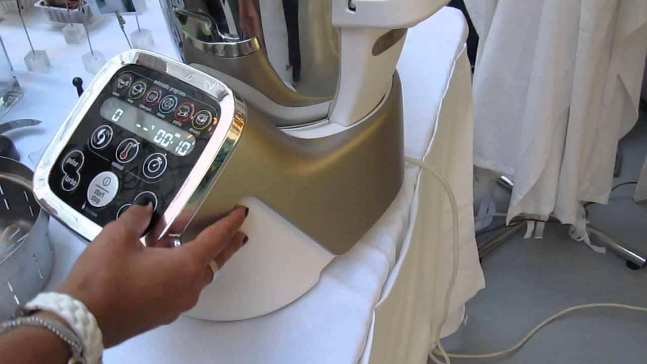 Les num riques moulinex cuisine companion d mo youtube - Robot style thermomix ...