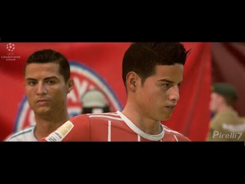 FIFA 18 Cinematic: BAYERN MUNICH VS REAL MADRID FC |Champions League Semi-Final 2018 | Pirelli7