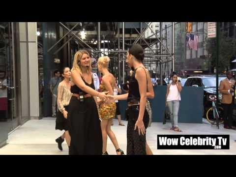 Kendall Jenner Spotted at New York Fashion week Event