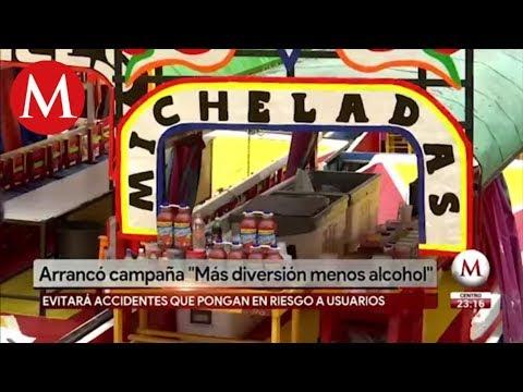 Así regularán consumo de alcohol en trajineras de Xochimilco