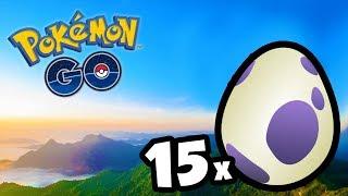 CHOQUEI 15 OVOS DE 10KM NA SEMANA LENDÁRIA - Pokémon GO | Completando a 3ª Geração (Parte 23)