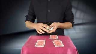 تعلم العاب الخفة # 305 ( زواج الملوك , حيلة بالورق ) free magic trick