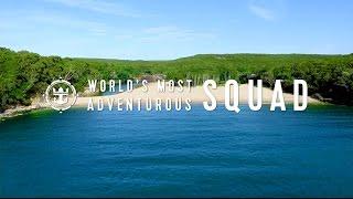 Win a Worldwide Adventure | Seeking the World's Most Adventurous Squad