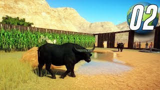 Planet Zoo Franchise - Part 2 - AFRICAN BUFFALO!