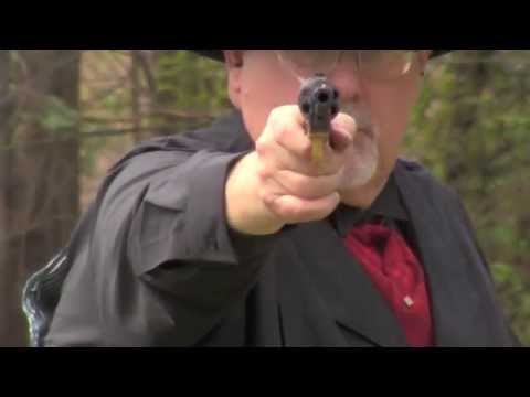 Shooting Piettas 1851 Navy Revolver.mov